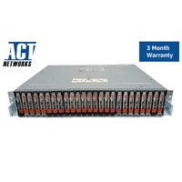 EMC SAE 25-Bay SFF Expansion Array 25x 600GB 520BPS 10K SAS Dual Contls Dual PSU