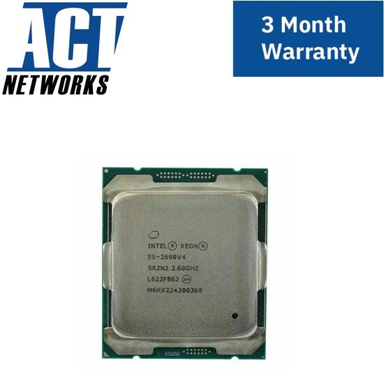 Intel Xeon E5-2690v4 14 Cores 2.60GHz Server CPU