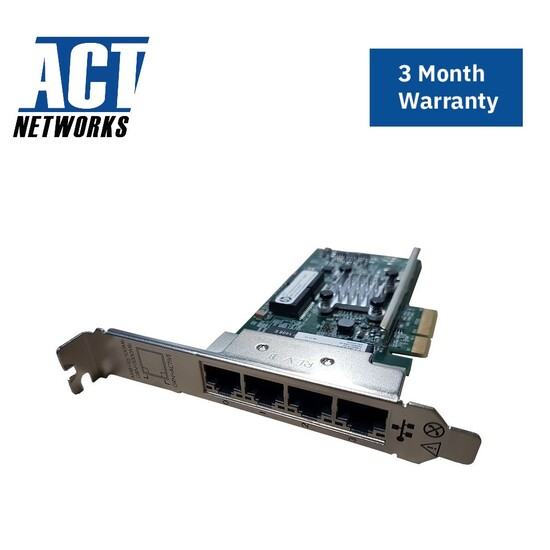 HP Ethernet 1GB 4-Port 331T Full Profile Adapter 649871-001, 647592-001